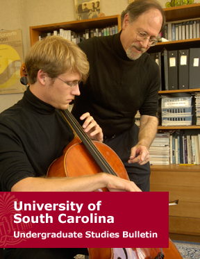 University of South Carolina Undergraduate Bulletin Main Page